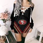 San Francisco 49ers Lace-Up Sweatshirt 77
