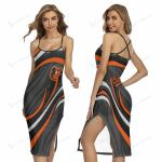 Baltimore Orioles Women's Back Cross Cami Dress 12