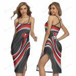 Tampa Bay Buccaneers Women's Back Cross Cami Dress 13
