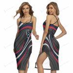 Houston Texans Women's Back Cross Cami Dress 29