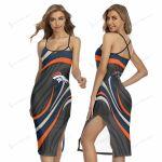 Denver Broncos Women's Back Cross Cami Dress 26