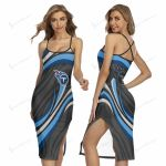 Tennessee Titans Women's Back Cross Cami Dress 35