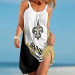 New Orleans Saints Beach Dress 117