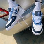 Tennessee Titans AF1 Shoes 256