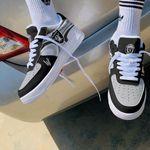 Las Vegas Raiders AF1 Shoes 252
