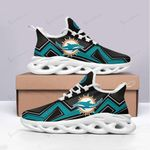 Miami Dolphins Yezy Running Sneakers 492