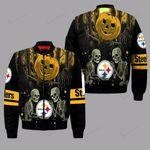 Pittsburgh Steelers Halloween Bomber Jacket 135