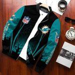Miami Dolphins Halloween Bomber Jacket 633