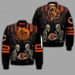 Chicago Bears Halloween Bomber Jacket 133