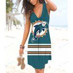 NFL Miami Dolphins Beach Dress 118