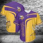Minnesota Vikings Baseball Jersey 449