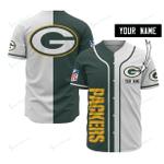 Green Bay Packers Personalized Baseball Jersey 517