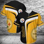 Pittsburgh Steelers Baseball Jersey 411