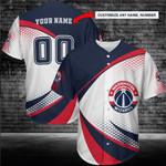 Washington Wizards Personalized Baseball Jersey 236