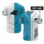 Carolina Panthers Personalized Baseball Jersey 518