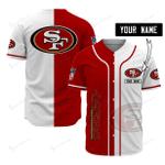 San Francisco 49ers Personalized Baseball Jersey 500