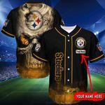 Pittsburgh Steelers Personalized Baseball Jersey Shirt 148