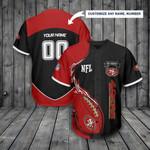 San Francisco 49ers Personalized Baseball Jersey 298