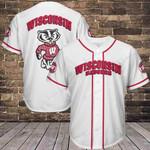 Wisconsin Badgers Baseball Jersey 261