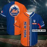New York Mets Personalized Baseball Jersey Shirt 219
