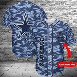 Dallas Cowboys Personalized Baseball Jersey 400