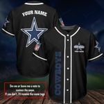 Dallas Cowboys Baseball Jersey 418