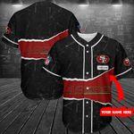 San Francisco 49ers Personalized Baseball Jersey Shirt 150