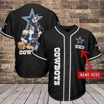 Dallas Cowboys Personalized Baseball Jersey 484