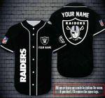 Las Vegas Raiders Personalized Baseball Jersey Shirt 178