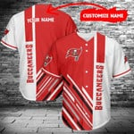 Tampa Bay Buccaneers Personalized Baseball Jersey 462