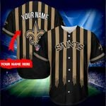 New Orleans Saints Personalized Baseball Jersey 278