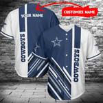 Dallas Cowboys Personalized Baseball Jersey 437