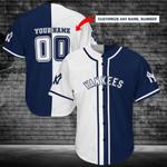 New York Yankees Personalized Baseball Jersey Shirt 112