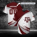 Texas A&M Aggies Personalized Baseball Jersey 258