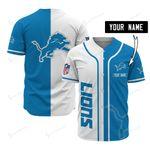 Detroit Lions Personalized Baseball Jersey 521
