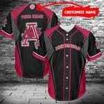 Arkansas Razorbacks Personalized Baseball Jersey 482