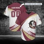 Florida State Seminoles Personalized Baseball Jersey 253