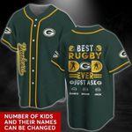 Green Bay Packers Personalized Baseball Jersey 492