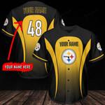 Pittsburgh Steelers Personalized Baseball Jersey 307