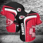 Kansas City Chiefs Baseball Jersey Shirt 430