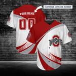 Ohio State Buckeyes Personalized Baseball Jersey 256
