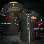 Kobe Bryant Personalized Baseball Jersey 464