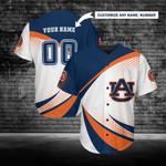 Auburn Tigers Personalized Baseball Jersey 250