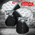 Philadelphia Eagles Personalized Baseball Jersey 471