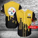 Pittsburgh Steelers Baseball Jersey 410