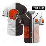 Cleveland Browns Personalized Baseball Jersey 507