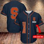 Syracuse Orange Personalized Baseball Jersey 347