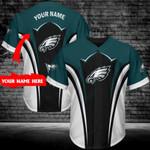 Philadelphia Eagles Personalized Baseball Jersey 293