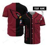 Arizona Cardinals Personalized Baseball Jersey 511