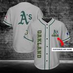 Oakland Athletics Personalized Baseball Jersey Shirt 206